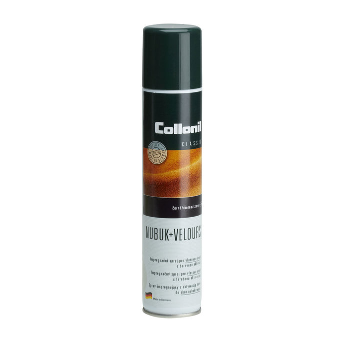 Impregnation spray for dark Velour or Nubuck footwear collonil, black , 990-6139 - 13