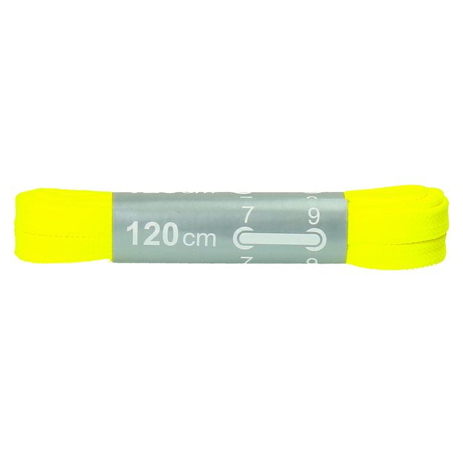 Colour laces bata, yellow , 999-8266 - 13