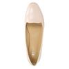 Ladies' leather ballerinas bata, pink , 528-5630 - 26