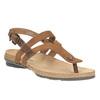 Ladies' leather sandals weinbrenner, brown , 566-4101 - 13