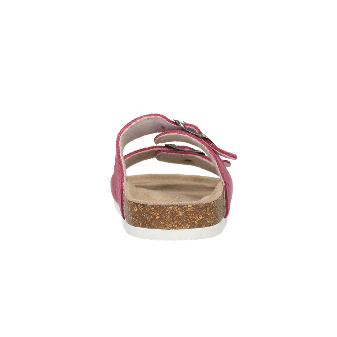 Children's pink slippers de-fonseca, pink , 373-5600 - 17