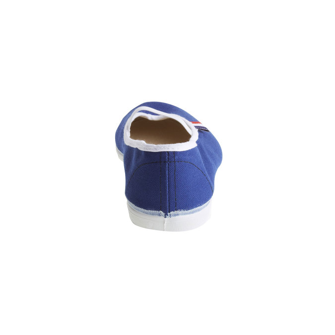 Kids' gym shoes bata, blue , 479-9100 - 17