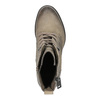 Ladies' ankle shoes bata, gray , 696-2604 - 19