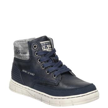 Boys´ ankle-cut sneakers mini-b, blue , 391-9600 - 13