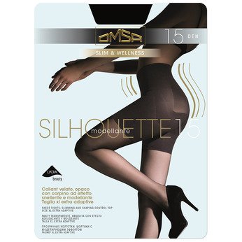 Ladies' body-shaping tights, black , 919-6391 - 13