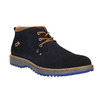 Men's shoes in the Chukka Boots style bata, blue , 893-9652 - 13