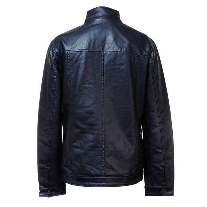 Men's jacket with breast pockets bata, black , 971-6169 - 26