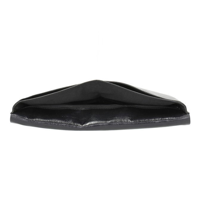 Leather document bag royal-republiq, black , 964-6009 - 15