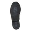 Children's leather high boots mini-b, black , 394-6191 - 26