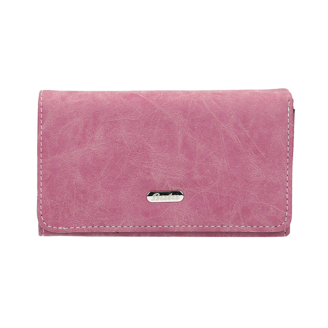 Stylish ladies' purse bata, pink , 941-5153 - 26