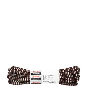 Round laces, brown , 901-4148 - 13