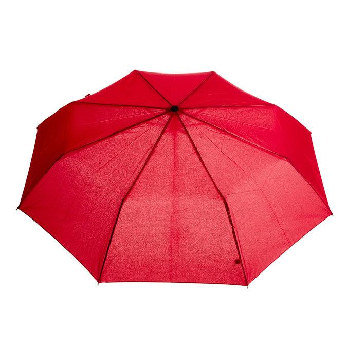 Red telescopic umbrella bata, red , 909-5600 - 26