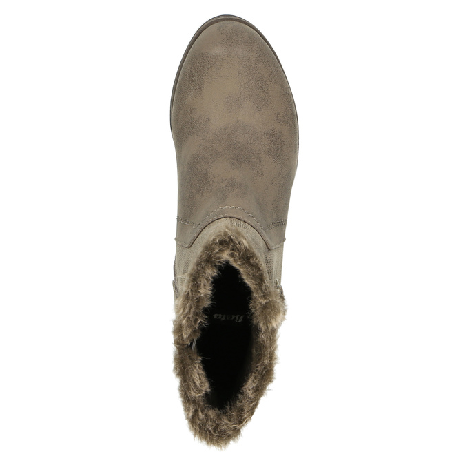 Ladies´ ankle-cut Cossacks bata, gray , 699-2632 - 19