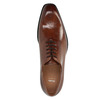 Leather Oxford shoes with Brogue work bata, brown , 826-3811 - 19