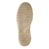 Casual leather shoes weinbrenner, beige , 846-8631 - 26