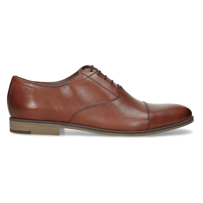 Brown leather Oxford shoes vagabond, brown , 824-3048 - 19