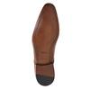 Men's leather shoes bata, brown , 826-3836 - 26