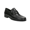 Men´s leather Loafers bata, black , 814-6621 - 13