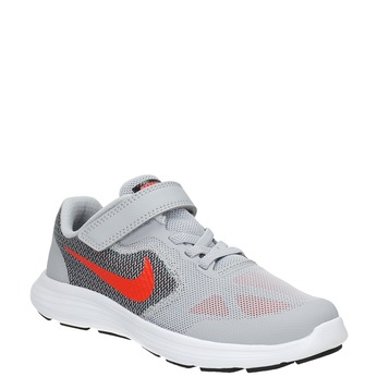Children's sporty sneakers nike, gray , 309-2149 - 13