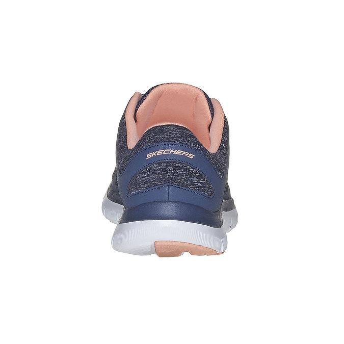 Ladies' sporty sneakers skechers, blue , 509-9963 - 17