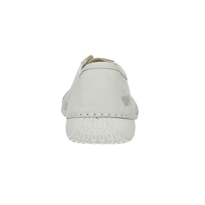 Ladies' casual leather shoes weinbrenner, white , 546-1602 - 17