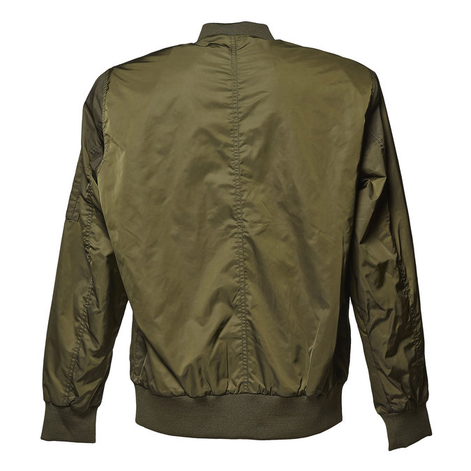 Men's Bomber style jacket bata, khaki, 979-7261 - 26