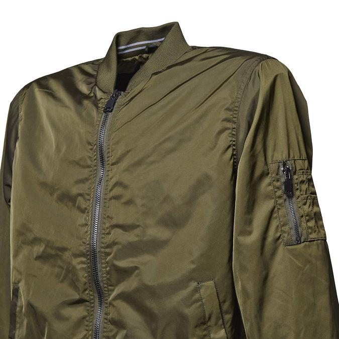 Men's Bomber style jacket bata, khaki, 979-7261 - 16