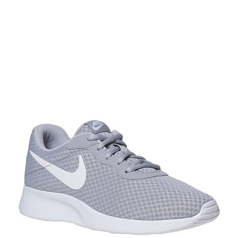 Grey sporty sneakers nike, gray , 809-2557 - 13
