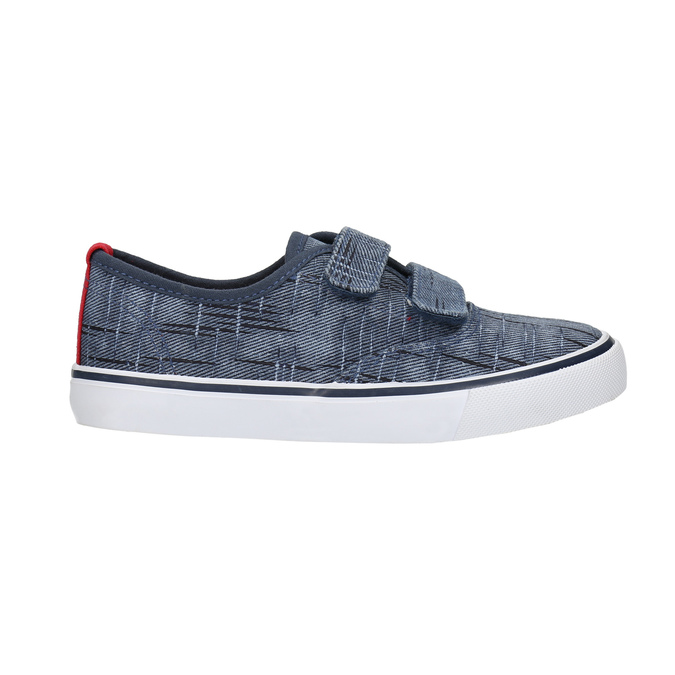 Children's sneakers with Velcro north-star-junior, blue , 219-9611 - 15