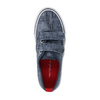 Children's sneakers with Velcro north-star-junior, blue , 219-9611 - 19