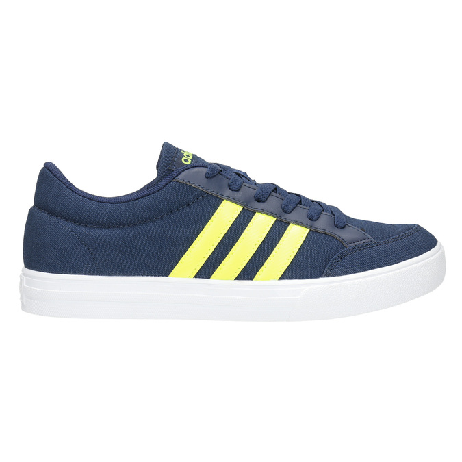 Boys' blue sneakers adidas, blue , 489-8119 - 15
