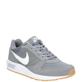 Men's grey sneakers nike, gray , 803-6152 - 13