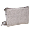 Leather crossbody handbag bata, gray , 963-2135 - 13