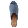 Mule slip-ons bata, blue , 769-9615 - 19
