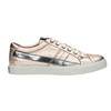 Ladies' leather sneakers with stitching diesel, pink , 584-8438 - 15