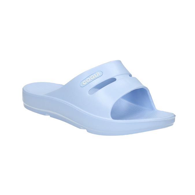 Ladies' blue slip-ons coqui, blue , 572-9608 - 13
