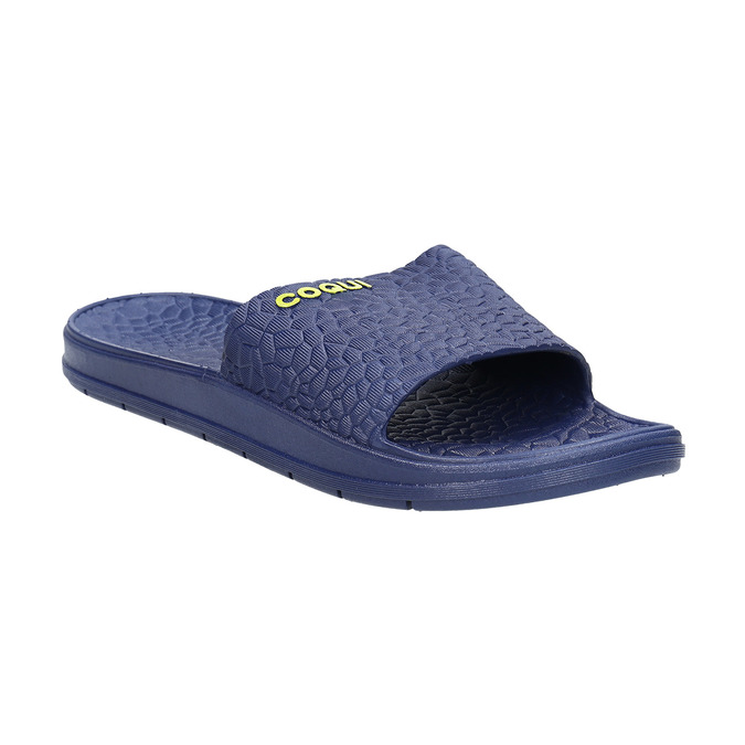Men's blue slip-ons coqui, blue , 872-9619 - 13