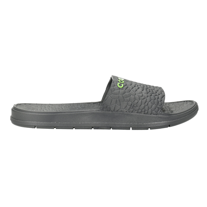 Men's grey slip-ons coqui, gray , 872-2619 - 15