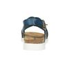 Ladies' leather sandals weinbrenner, blue , 566-9628 - 17
