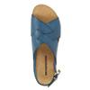 Ladies' leather sandals weinbrenner, blue , 566-9628 - 19