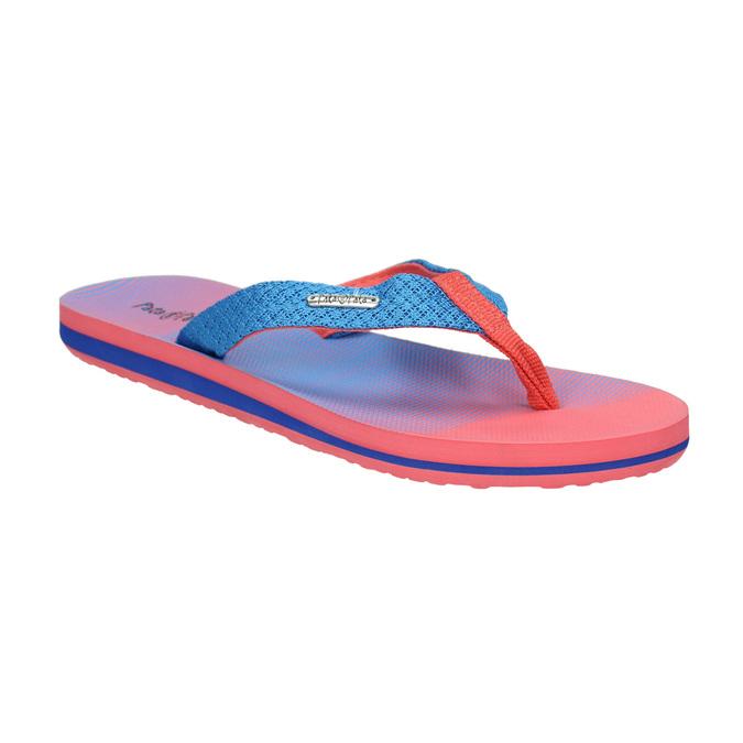 Ladies' flip-flops pata-pata, red , 579-9615 - 13
