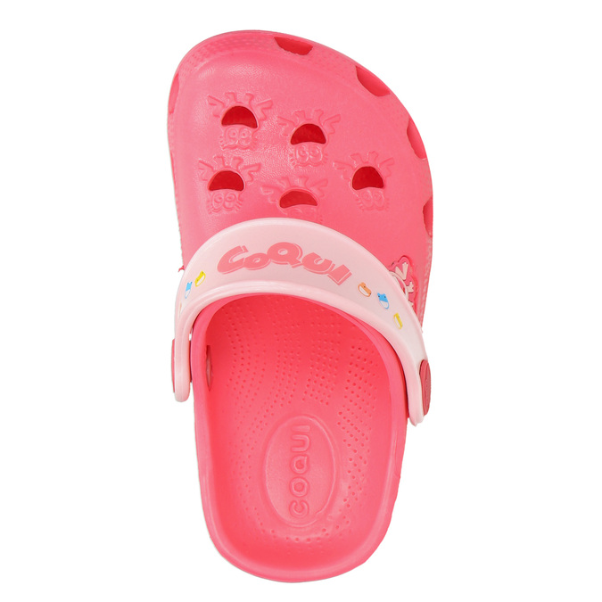Girls' pink sandals coqui, pink , 272-5600 - 26