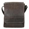 Men's leather bag bata, brown , 964-4283 - 26