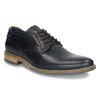 Informal leather shoes bata, blue , 826-9910 - 13