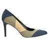 Ladies stiletto pumps insolia, blue , 729-9607 - 15