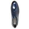 Ladies' leather oxford shoes bata, blue , 528-9600 - 19