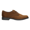 Ladies' brown shoes with stitching bata, brown , 529-4632 - 15