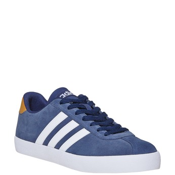 Men's leather sneakers adidas, blue , 803-9197 - 13