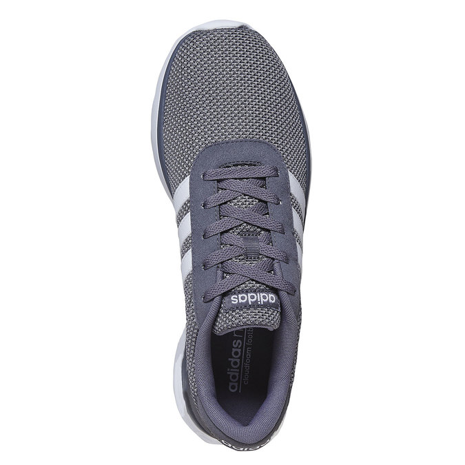 Men's grey sneakers adidas, gray , 809-2198 - 19
