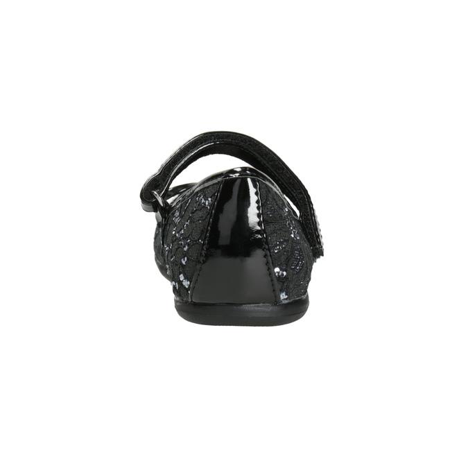 Girls' Ballet Pumps with Lace mini-b, black , 229-6198 - 16